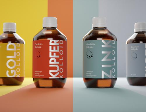 Qualitätskolloide – Rebranding eines Nahrungsergänzungsmittels
