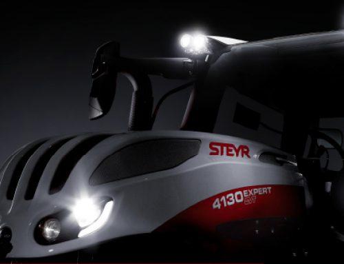 STEYR Traktoren Getriebeanimation